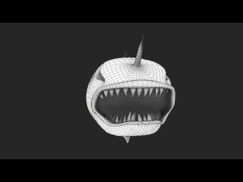 Angler fish model