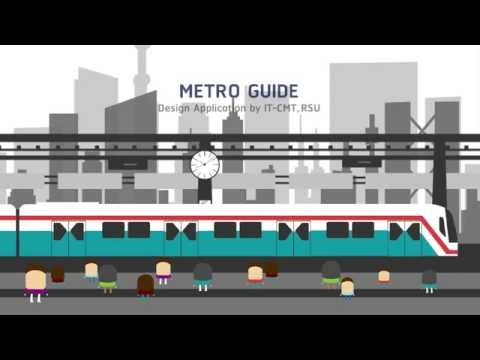 Metro Guide Application