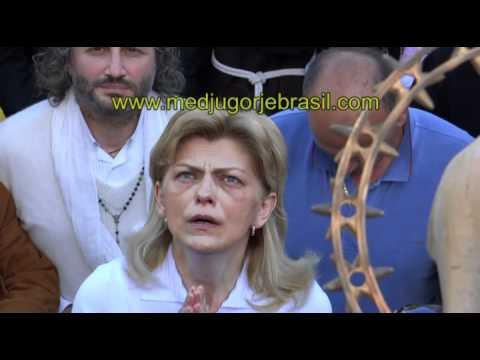Video exclusivo Aparição Nossa Senhora em 2 de maio de 2012 em Medjugorje