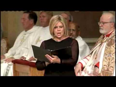 Susan Graham Performs 'Ave Maria' At Mass