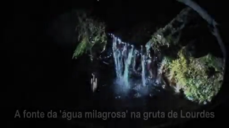 Água da fonte de Lourdes