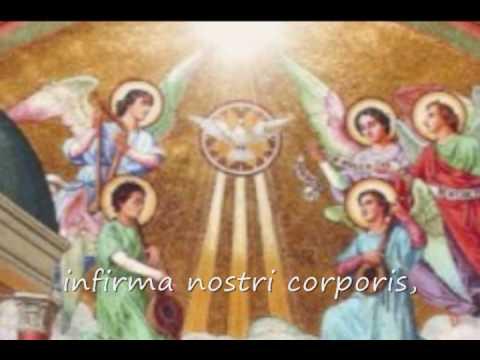 Veni Creator Spiritus - Ven Espíritu Creador. Canto Gregoriano