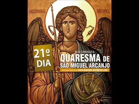 21º Dia da Quaresma de São Miguel Arcanjo