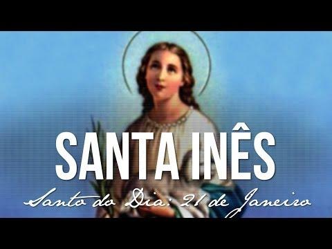 21 de Janeiro / Santo do Dia - Santa Inês