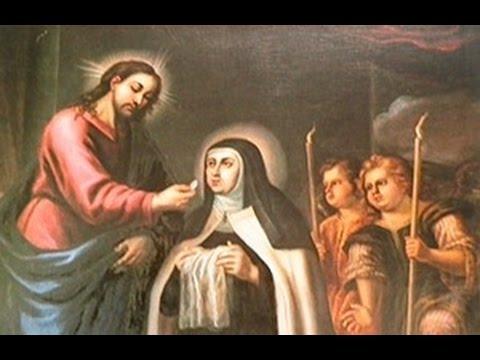 A importância da Eucaristia para Santa Teresa de Jesus e Santa Teresinha
