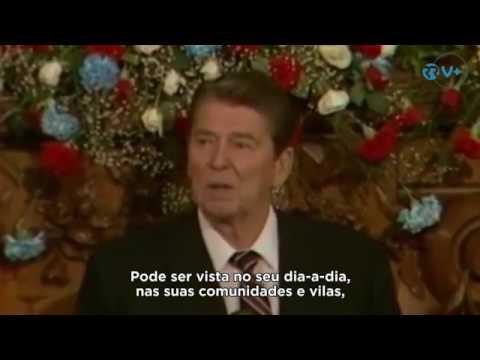 Quando Ronald Reagan diz que os pastorinhos são mais poderosos que o seu exercito