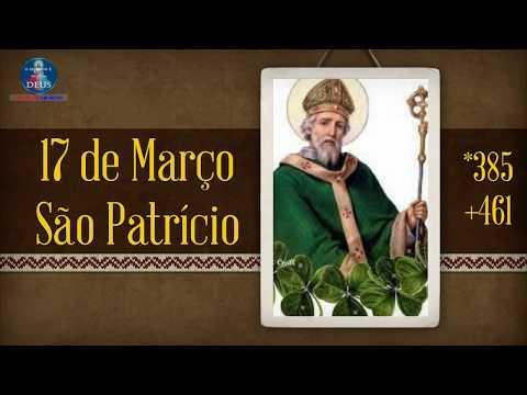 São Patrício - Santo do dia 17 de Março