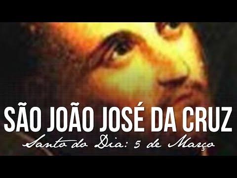 05 de Março - dia de São João José da Cruz