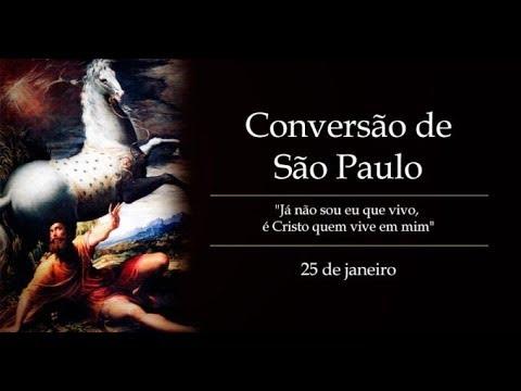 Oração Pela Igreja 25 Janeiro - Conversão de São Paulo