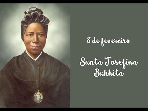 Dias mais Santos -  8 de Fevereiro -  Santa Josefina Bakhita