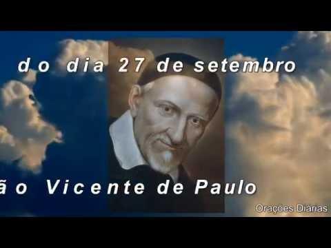 São Vicente de Paulo - 27 de setembro