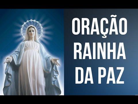 Oração rainha da paz