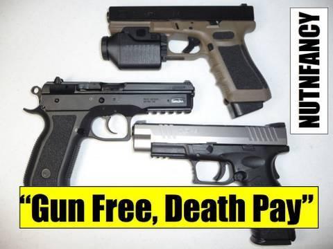 Gun Free Zone = Free Fire Zone