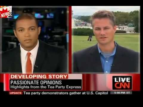 CNN Reporter Finds Sizable 'Dark Undercurrent' Among Tea Party Protesters