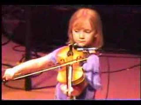 7 Year Old Fiddler Laura Watson Part 2