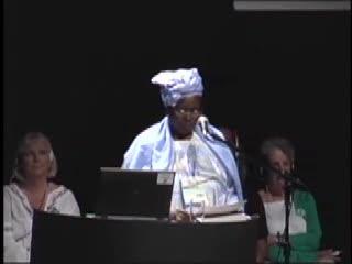 Global Greens 2008 - Fadimata Bintou Toure espe Diallo (Mali)