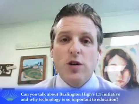 Interview with Patrick Larkin, Principal of Burlington High School on Education Best Practices