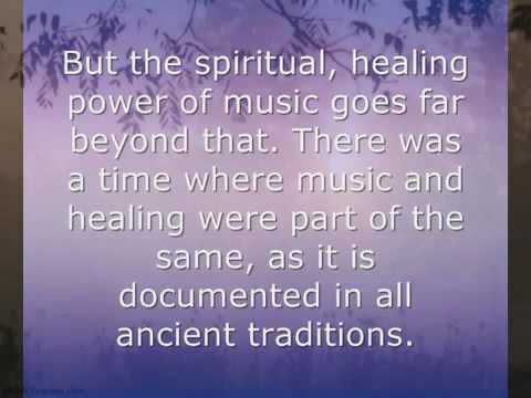 The Secret Healing Power of Spiritual Music by JAVIER RAMON BRITO