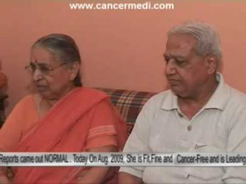 Cancer Patient from DELHI cured at DNTCRC
