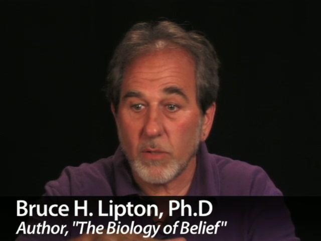 Bio Physicist Bruce Lipton : Beyond Darwin pt.1