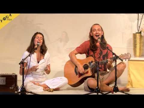 Mantra Video: Ed and Amber chant Om Namah Shivaya