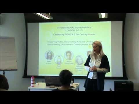 'Celebrating Being a 21st Century Woman' event in London for International Women's Day 2015