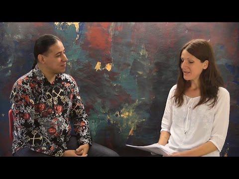 Social Artist Video Interviews: guest Juan Garcia-Herreros ~ The Snow Owl