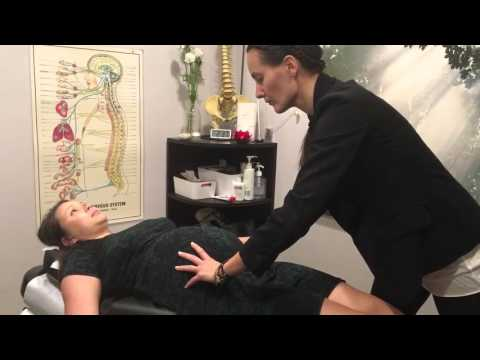 Pregnancy Chiropractic Treatment 38 weeks with Dr. Kamilla Holst