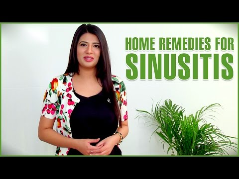 Sinusitis Home Remedies