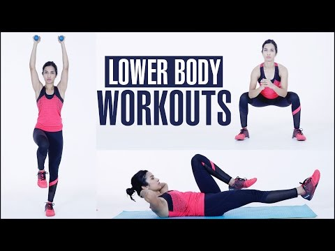 Cardio & LOWER BODY WORKOUT At Home For Women