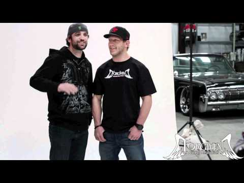 Forgiven Behind the Scenes- TJ Lavin, Big B & Gray Maynard