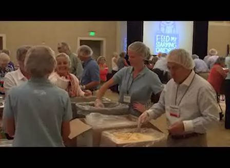 The c-store industry packs 50,000 meals for charity