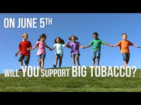 California Supports Big Tobacco [OFFICIAL VIDEO]
