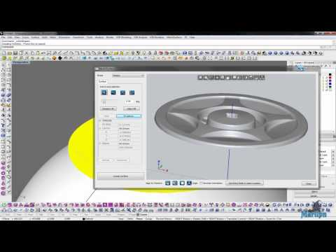 Mesh2Surface: Working with Sphere tool