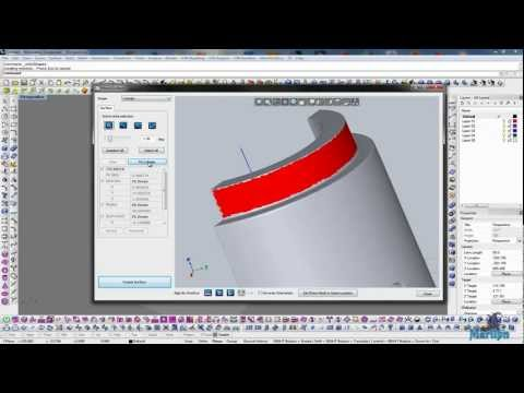 Mesh2Surface: Working with Cylinder tool