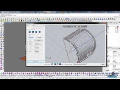 Mesh2Surface: Working with Plane tool