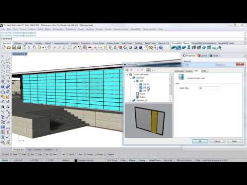 Curtain Wall video