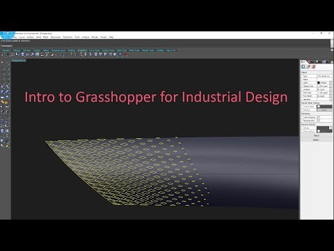 Intro to Grasshopper for Industrial Design