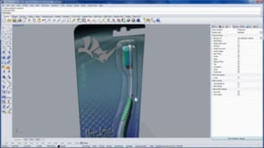 'Say Ahh'... product design and packaging with Rhino 5: Modeling the handle 1 of 7