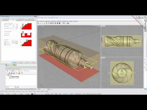 RhinoCAM 2015 4 Axis Milling Introduction