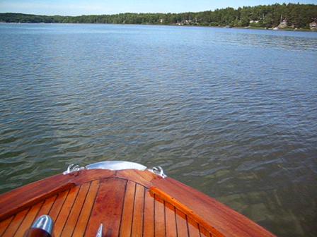 Båtfärd Erre-Dinghyn