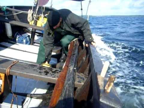 Båtbyggarlinjen går till sjöss!