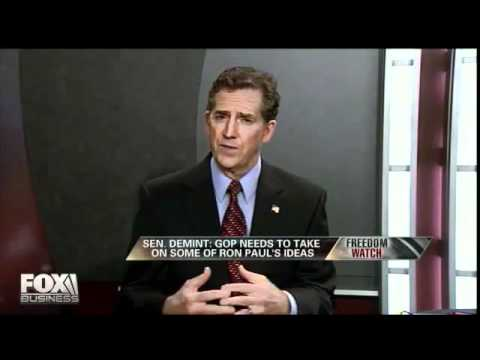 Senator Jim DeMint on Ron Paul's Foreign Policy