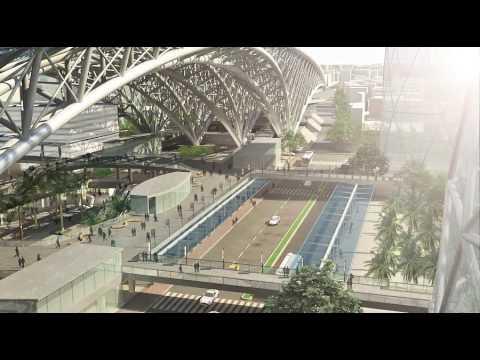 高雄車站模擬概念影片