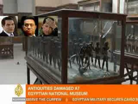 Saqueado el Museo de El Cairo, Egipto