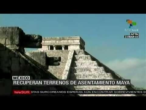 Adquisición de los terrenos de Chichén Itzá