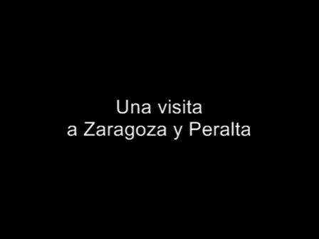Un viaje por Zaragoza y Peralta
