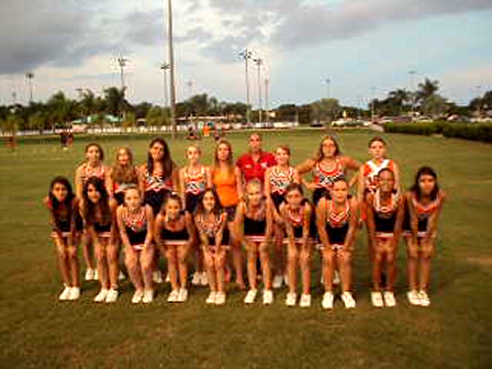 Meet The Davie Broncos 120's Cheer