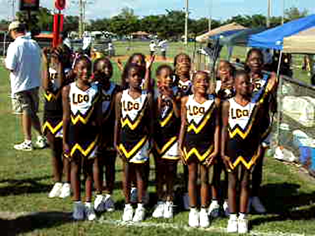 Meet The Liberty City Warriors Cheerleaders