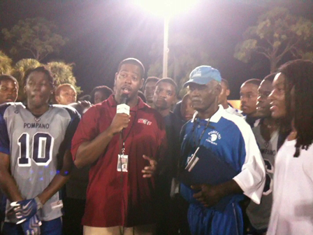 Post Game Interview with the Pompano Head Coach